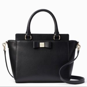 Authentic Kate spade pebbled leather Crosb/Satchel